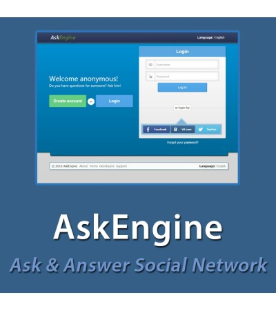 AskEngine - Q&A Social Network