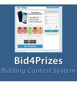 Bid4Prizes - Bidding Contest System