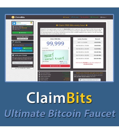 ClaimBits - Ultimate Bitcoin Faucet