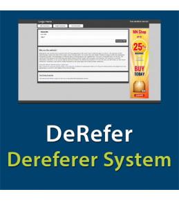 DeRefer - Website Dereferer System