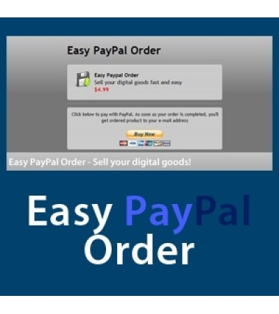 Easy Paypal Order