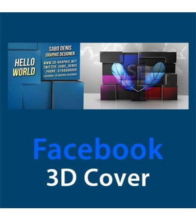 Facebook 3D Cover