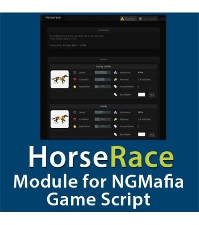 HorseRace module for NGMafia