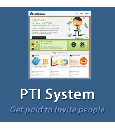 Paid To Invite System