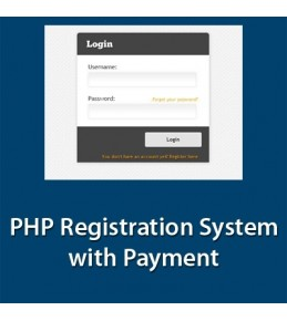 PHP Registration System with Payment
