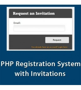 Registration System with Invitations