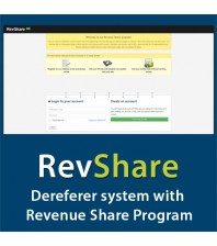 RevShare - Powerful dereferer system