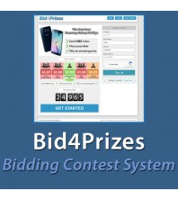 Bid4Prizes - Bidding Contest System