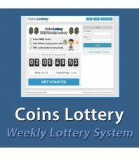 Coins Lottery - Weekly Lottery System