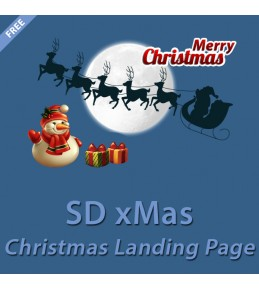 xMas Landing Page