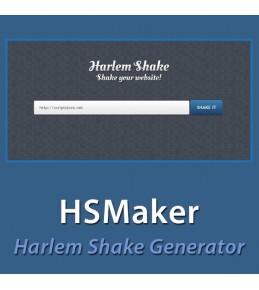 HSMaker - Harlem Shake Generator